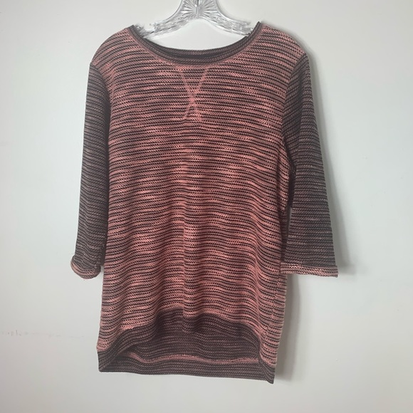 H&M Sweaters - H & M black and pink sweater